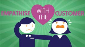 Empathise With Anxious Customers